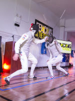 """Fencing In The Schools """"Turn The Light On Gala"""" Hosted by Tim Gunn and Tim Morehouse  #77"""