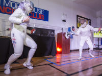 """Fencing In The Schools """"Turn The Light On Gala"""" Hosted by Tim Gunn and Tim Morehouse  #86"""