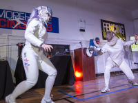 """Fencing In The Schools """"Turn The Light On Gala"""" Hosted by Tim Gunn and Tim Morehouse  #3"""