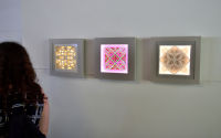 Night and Day A Curated Exhibition of Light at Joseph Gross Gallery #208