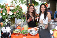 CHICAGO, IL - JULY 22: (L-R): Nicole Suarez and Ximena Larkin photographed during Molly Guy's Chicago Soiree in Bloom curated with Cointreau and Guest of a Guest on Friday, July 22, 2016 at The James Chicago hotel in Chicago, Illinois. (Photo by Randy Belice)