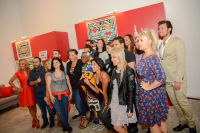 Belvedere Celebrates (RED) and Partnership with South African Artist, Esther Mahlangu at Ace Gallery in Los Angeles [Cocktail Reception] #6