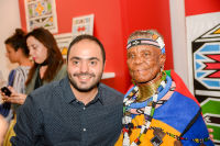 Belvedere Celebrates (RED) and Partnership with South African Artist, Esther Mahlangu at Ace Gallery in Los Angeles [Cocktail Reception] #15