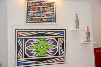 Belvedere Celebrates (RED) and Partnership with South African Artist, Esther Mahlangu at Ace Gallery in Los Angeles [Cocktail Reception] #25