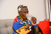 Belvedere Celebrates (RED) and Partnership with South African Artist, Esther Mahlangu at Ace Gallery in Los Angeles [Cocktail Reception] #34