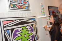 Belvedere Celebrates (RED) and Partnership with South African Artist, Esther Mahlangu at Ace Gallery in Los Angeles [Cocktail Reception] #80