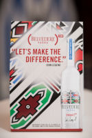 Belvedere Celebrates (RED) and Partnership with South African Artist, Esther Mahlangu at the Dusable Museum in Chicago #31