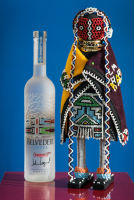 Belvedere Celebrates (RED) and Partnership with South African Artist, Esther Mahlangu at the Dusable Museum in Chicago #40