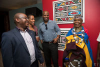 Belvedere Celebrates (RED) and Partnership with South African Artist, Esther Mahlangu at the Dusable Museum in Chicago #43