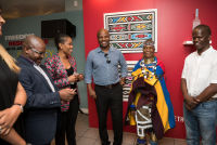 Belvedere Celebrates (RED) and Partnership with South African Artist, Esther Mahlangu at the Dusable Museum in Chicago #44