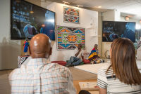 Belvedere Celebrates (RED) and Partnership with South African Artist, Esther Mahlangu at the Dusable Museum in Chicago #247