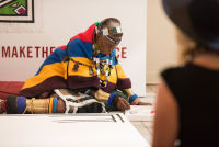 Belvedere Celebrates (RED) and Partnership with South African Artist, Esther Mahlangu at the Dusable Museum in Chicago #64