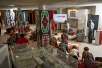 Belvedere Celebrates (RED) and Partnership with South African Artist, Esther Mahlangu at the Dusable Museum in Chicago #106