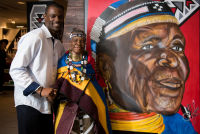 Belvedere Celebrates (RED) and Partnership with South African Artist, Esther Mahlangu at the Dusable Museum in Chicago #122
