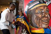 Belvedere Celebrates (RED) and Partnership with South African Artist, Esther Mahlangu at the Dusable Museum in Chicago #125