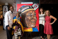 Belvedere Celebrates (RED) and Partnership with South African Artist, Esther Mahlangu at the Dusable Museum in Chicago #128