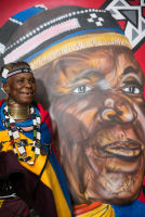 Belvedere Celebrates (RED) and Partnership with South African Artist, Esther Mahlangu at the Dusable Museum in Chicago #132