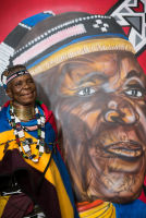 Belvedere Celebrates (RED) and Partnership with South African Artist, Esther Mahlangu at the Dusable Museum in Chicago #137