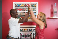 Belvedere Celebrates (RED) and Partnership with South African Artist, Esther Mahlangu at the Dusable Museum in Chicago #140
