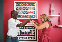 Belvedere Celebrates (RED) and Partnership with South African Artist, Esther Mahlangu at the Dusable Museum in Chicago #139