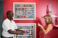 Belvedere Celebrates (RED) and Partnership with South African Artist, Esther Mahlangu at the Dusable Museum in Chicago #142