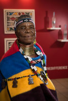 Belvedere Celebrates (RED) and Partnership with South African Artist, Esther Mahlangu at the Dusable Museum in Chicago #144