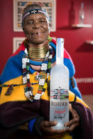 Belvedere Celebrates (RED) and Partnership with South African Artist, Esther Mahlangu at the Dusable Museum in Chicago #149