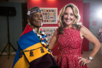 Belvedere Celebrates (RED) and Partnership with South African Artist, Esther Mahlangu at the Dusable Museum in Chicago #153