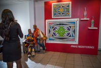Belvedere Celebrates (RED) and Partnership with South African Artist, Esther Mahlangu at the Dusable Museum in Chicago #158