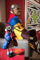 Belvedere Celebrates (RED) and Partnership with South African Artist, Esther Mahlangu at the Dusable Museum in Chicago #163