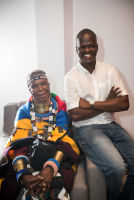 Belvedere Celebrates (RED) and Partnership with South African Artist, Esther Mahlangu at the Dusable Museum in Chicago #185