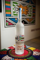 Belvedere Celebrates (RED) and Partnership with South African Artist, Esther Mahlangu at the Dusable Museum in Chicago #227