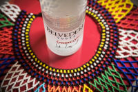 Belvedere Celebrates (RED) and Partnership with South African Artist, Esther Mahlangu at the Dusable Museum in Chicago #238