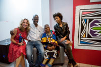 Belvedere Celebrates (RED) and Partnership with South African Artist, Esther Mahlangu at the Dusable Museum in Chicago #274