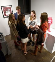 Cecil: A Love Story exhibition opening at Joseph Gross Gallery #136