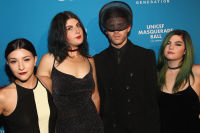 LOS ANGELES, CA - OCTOBER 27:  (L-R) Musicans Alex Winston, Emmie Lichtenberg, Max Hershenow, and Phoebe Ryan at the fourth annual UNICEF Next Generation Masquerade Ball on October 27, 2016 in Los Angeles, California.  (Photo by Tommaso Boddi/Getty Images for U.S. Fund for UNICEF)