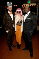 LOS ANGELES, CA - OCTOBER 27:  (L-R) Pete Huyck, actress Julianne Hough, and Sam Richardson at the fourth annual UNICEF Next Generation Masquerade Ball on October 27, 2016 in Los Angeles, California.  (Photo by Tommaso Boddi/Getty Images for U.S. Fund for UNICEF)
