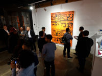 Orange Is The New Black exhibition opening at Joseph Gross Gallery #188
