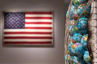 Bernie Taupin Debuts ANTIPHONA Exhibit at Waterhouse & Dodd in New York #10