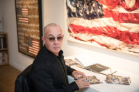 Bernie Taupin Debuts ANTIPHONA Exhibit at Waterhouse & Dodd in New York #29