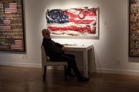 Bernie Taupin Debuts ANTIPHONA Exhibit at Waterhouse & Dodd in New York #41