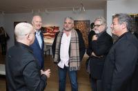 Bernie Taupin Debuts ANTIPHONA Exhibit at Waterhouse & Dodd in New York #86