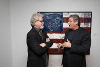 Bernie Taupin Debuts ANTIPHONA Exhibit at Waterhouse & Dodd in New York #91
