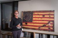Bernie Taupin Debuts ANTIPHONA Exhibit at Waterhouse & Dodd in New York #126