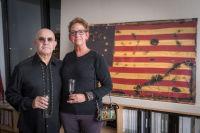 Bernie Taupin Debuts ANTIPHONA Exhibit at Waterhouse & Dodd in New York #118