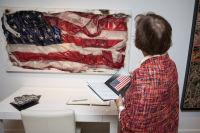 Bernie Taupin Debuts ANTIPHONA Exhibit at Waterhouse & Dodd in New York #128