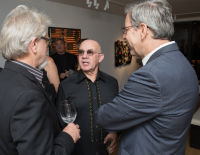 Bernie Taupin Debuts ANTIPHONA Exhibit at Waterhouse & Dodd in New York #130