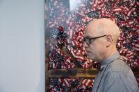 Bernie Taupin Debuts ANTIPHONA Exhibit at Waterhouse & Dodd in New York #133