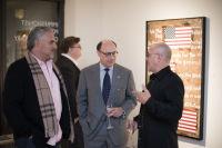 Bernie Taupin Debuts ANTIPHONA Exhibit at Waterhouse & Dodd in New York #165