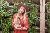 Mowgli Rescue & Rahicali's Furry Friendsgiving at The Butcher's Daughter #1
